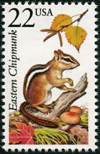 Usa -1987- North American Wildlife Stamp - Eastern Chipmunk - Scott #2297