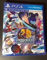 Persona 3 [ Dancing in Moonlight ] (PS4) NEW