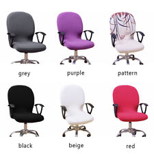 Swivel Computer Chair Cover Stretch Home Office Chair Protector Seat Cover Decor