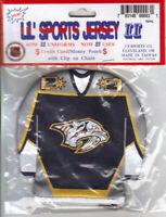 NHL Licensed Lil' Sport Jersey  Key Chain - Nashville Predators