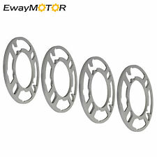 4X 6mm 4 5 Lug Universal Wheel Spacers 4X100 5X100 5X112 5X114.3 5X120 for Ford