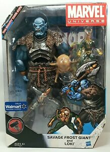 Marvel SAVAGE FROST GIANT & LOKI Figures w/ The Mighty Thor #175 Walmart Excl.