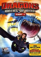 Dragons: Riders of Berk - Part 1 [New DVD] 2 Pack, Ac-3/Dolby Digital, Dolby,