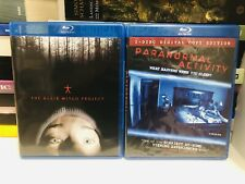 The Blair Witch Project & Paranormal Activity | Blu-ray | Horror Classics