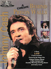 JOHNNY CASH A CONCERT BEEHIND PRISON WALLS DVD WITH INSERT