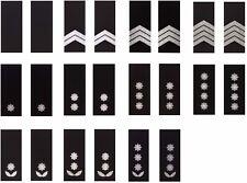 NEW Ukrainian POLICE, SET 11 Shoulder boards marks straps, slip-on ranks Ukraine