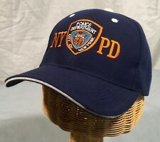 NYPD Police Department City of New York - Adjustable Strap Hat Cap Blue - H640