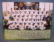 Milwaukee Brewers 1996 Team Photo Fan Appreciation Night