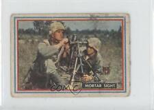 1953 Topps Fighting Marines #18 Mortar Sight Non-Sports Card 0s4