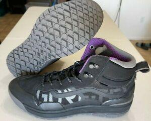 Vans Ultrarange Hi MTE Direct Tech Black Pewter Boots Gore-Tex Men's Size 11
