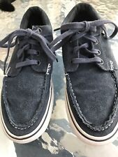 Van's Skate Sneakers Navy Blue Men's Size 6.5 Women's Size 8 Shoes
