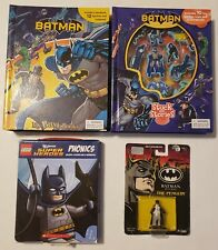 Mix Lot of 4 Batman Collection for Kids 3+