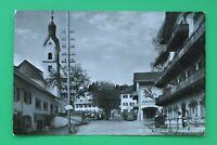Bayern AK Bad Kohlgrub 1957 OBB Post Lichtspiele Geschäfte Gasthaus Maibaum (3