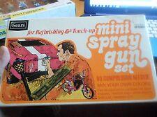 Sears Vintage Mini spray Gun Set #15502 No Compressor Needed!!