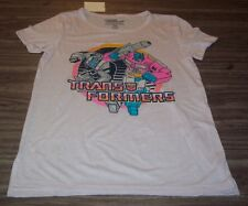 Women's TEEN TRANSFORMERS OPTIMUS PRIME JAZZ T-Shirt G1 PINK XS NEW w/ TAG