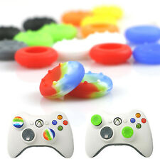 10x Game Accessory Silicone Analog Thumb Grips Cap Case for PS3/4 Xbox 360/ONE