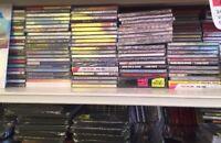 Lot revendeur destockage Palettes/Solderie De 120 CD Musique Neuf
