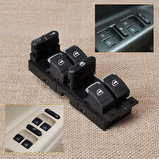 New Chrome Car Master Power Window Switch For VW Bora Jetta Golf GTI MK4 Passat
