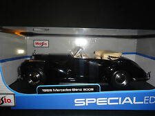 Maisto Mercedes Benz 300S 1955 Black 1/18