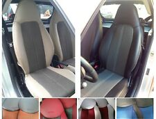 CAR SEAT COVERS (2 pcs) | Made for SMART (453) | Leatherette & Net Combinations