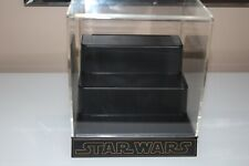 Star Wars Master Replicas .45 Scaled Mini Lightsaber Display Case SW-505
