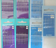JTL ASSORTED,BALL POINT TAPESTRY /CROSS STITCH NEEDLES,SIZES, 26, 24, 22, 20, 18