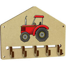 'Red Tractor' Wall Mounted Key Hooks / Holder (WH00040701)