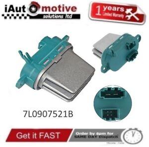 Audi Q7 VW Sharan Touareg Heizung Lüftung / Lüfter Motor Widerstand 7L0907521B