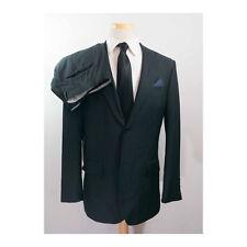 BALMAIN 40R 34x33 Black Stripe 2Btn Suit (48R IT)