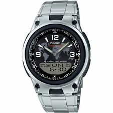 Casio Combination Data Bank Watch, 50 Meter WR, 3 Alarms, World Time, AW80D-1A2V
