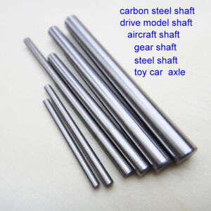 5PCS Gear Shaft Carbon Steel Shaft Rod Transmission Shaft 4WD Car Racing Car DIY