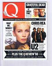 U2 / ANNIE LENNOXQ MagazineN0.17Oct 1992