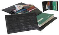 Tout en un Porte-chéquier Portefeuille Porte-cartes pour Femme DHD