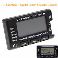 Battery Meter Checker Tester CellMeter-7 Capacity for LiPo LiFe Li-ion NiMH Nicd