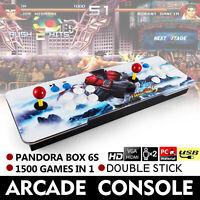 1500 in 1 Pandora Box 6s Retro Video Games Double Stick Arcade Console HDMI TV