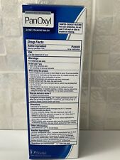 Panoxyl Benzoyl Peroxide 10% Acne Foaming Wash 5.5 oz UK