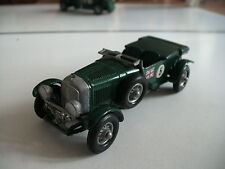 Matchbox 1929 4,5 Litre Bentley in Green on 1:43