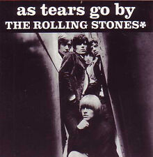 CD Single The ROLLING STONES As tears go by -  Gotta get away  2-track CARD SLE