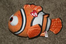 "Nemo Ty Sparkle Disney Beanie Babies 11"" Long Fish Stuffed Plush Finding Dory"