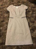 Talbots Petites Black and White Short Sleeve Dress Size 6P