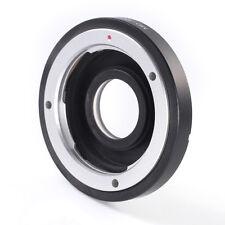 MD/MC to Canon EOS EF 7D 5D II III 1200D 700D Mount Adapter  w/ Optic Glass+Caps
