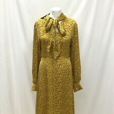 Womens M&S Yellow Striped Floral Maxi Dress Size 18 New With Tags Ladies
