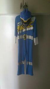 Blue Power Rangers Costume Age 5-6