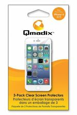 New in Box OEM Qmadix 3-Pack Clear Screen Protector For iPhone 6/6s