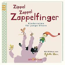Zippel Zappel Zappelfinger (2014, Gebundene Ausgabe)