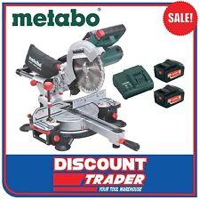 Metabo 18V Lithium-Ion Slide Compound Mitre Saw Kit KGS 216 LTX - AU61901000A