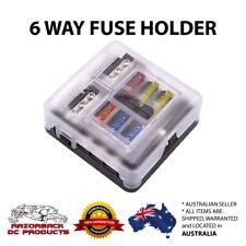 6 Way 12V/24V Auto Blade Fuse Box Holder