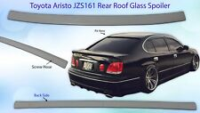 FRP Toyota Aristo GS300 GS400 JZS161 JZS160 Rear Window Glass Spoiler Visor OEM