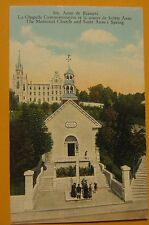 Vintage Postcard Ste Anne de Beaupre Monestery Quebec Canada