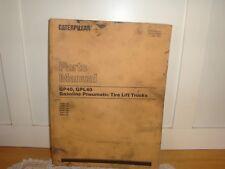 Reduced 1993 Caterpillar Parts Manual Gp40-Gpl40-Lift Trucks-Heavy Equipment